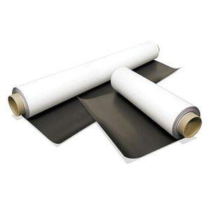 Folie magnet isotropic printabilă cu PVC alb mat rolă grosime 0,5mm
