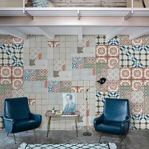Tapet Ritrama Deco-Wall 150 microni, alb satin, polimeric, adeziv permanent, spate alb