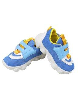 Adidasi beautiful albastru-galben