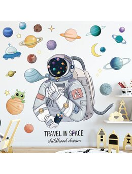 Autocolant de perete Travel in space 95x107cm