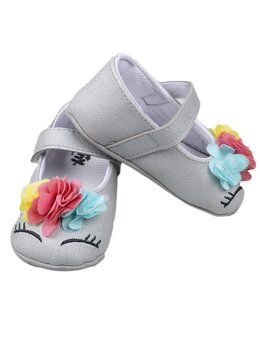 Balerini unicorn gri