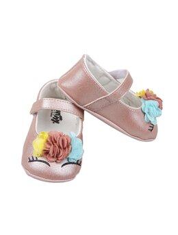 Balerini unicorn roz prăfuit