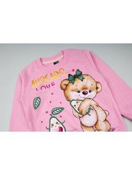 Bluzita vatuita urs roz