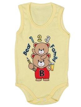 Body bear family galben