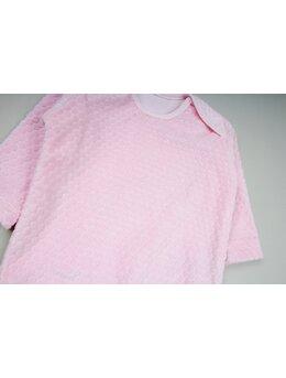 Body catifea grofata roz
