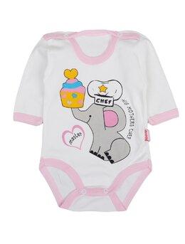 Body ml elefant CHEF roz