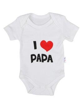 Body ms I LOVE PAPA alb