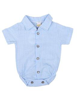 Cămașă stil body bleu Ken