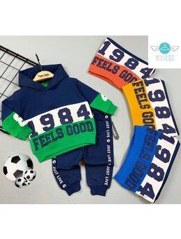 Compleu 1984 FEELS GOOD model bleumarin-maro