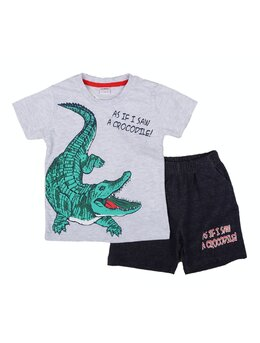 Compleu Crocodile gri