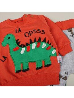 Compleu Dino OPSS portocaliu