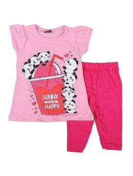 Compleu girl sunny panda model roz