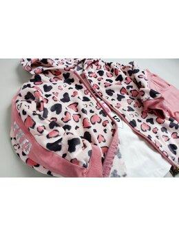Compleu leopard roz prafuit SANI