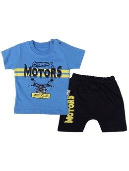 Compleu Motors Club albastru