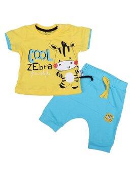 Compleu Zebra Miniworld galben
