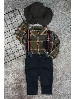Costum Marco model kaki