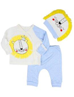 Costumas 3 piese lion bleu