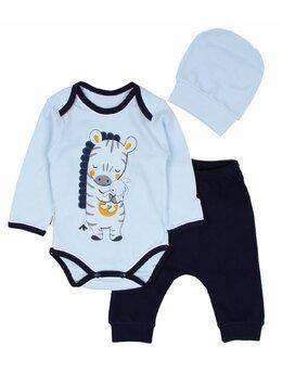 Costumas 3 piese zebra model 2