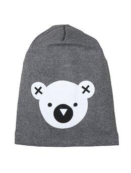 Fes cu cap de ursulet model gri inchis