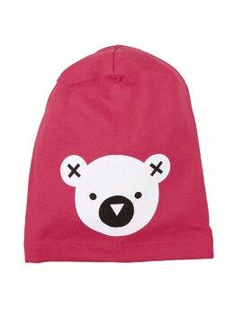 Fes cu cap de ursulet model roz aprins