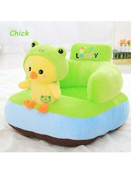 Fotoliu bebelusi pui verde