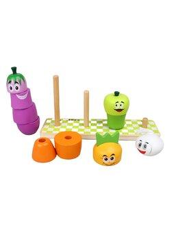 Joc legume din lemn costructie Kabi