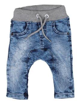 Pantaloni de blug cu elastic în talie