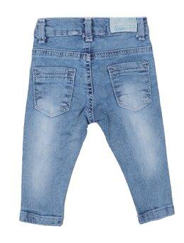 Pantaloni de blug cu perlate aplicate