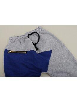 Pantaloni de trening fashion albastru 1