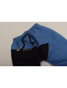 Pantaloni de trening fashion albastru 2