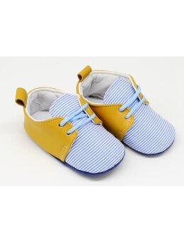 Pantofiori model galben dungute