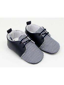 Pantofiori model negru dungute
