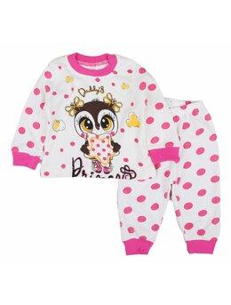 Pijama bufnita ciclam