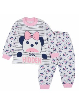 Pijama HIDDEN roz