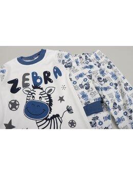 Pijama Zebra boy 1 albastru