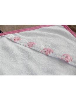 Prosop bebelusi roz