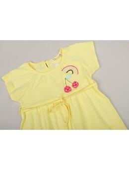 Rochița cireșele model galben