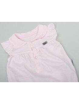 Salopeta bumbac de vara simpla roz