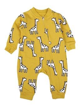 Salopeta girafe model galben