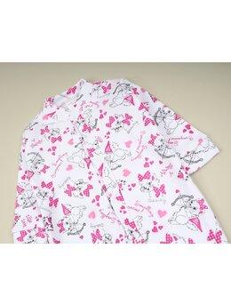 Salopeta imprimata pisicute roz