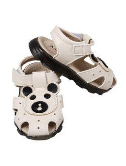 Sandale bej cu ursulet