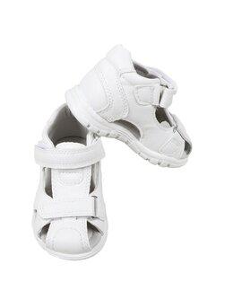 Sandale copii fashion Apawwa cu arici model alb