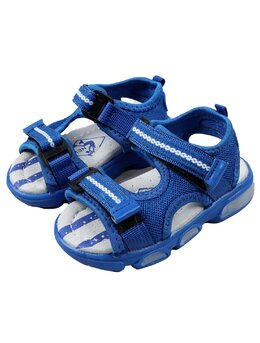 Sandale copii sport cu LED model albastru