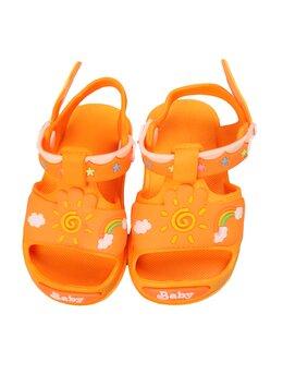 Sandale copii sunshine model galben-portocaliu
