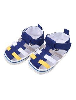Sandale Funny multicolor albastru