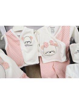Set 10 piese baby girl coral pal