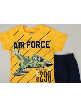Set 2 piese AIR FORCE galben