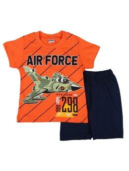Set 2 piese AIR FORCE portocaliu