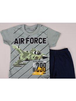 Set 2 piese AIR FORCE verde