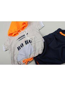 Set BOBO fashion portocaliu